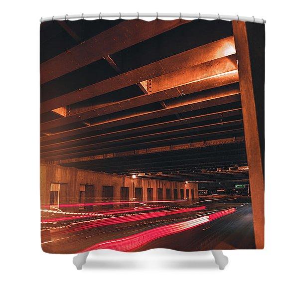 800 Milliseconds Shower Curtain