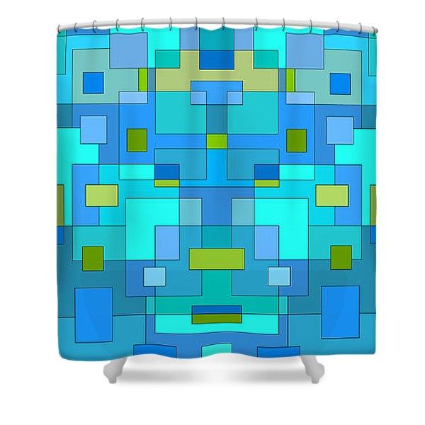 90 Degrees Shower Curtain