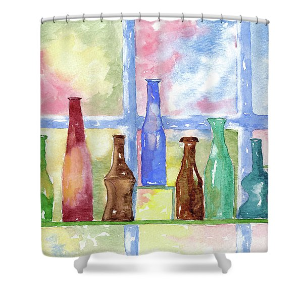 99 Bottles Shower Curtain