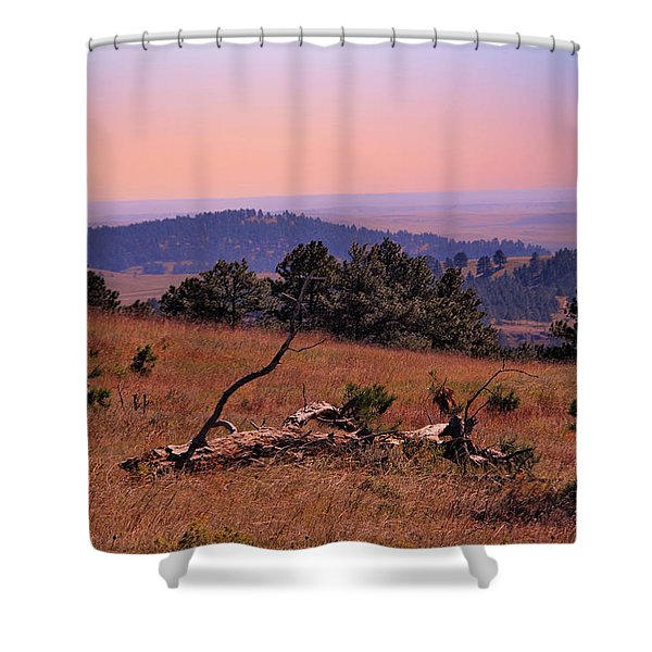 Shower Curtain featuring the photograph Autumn Day At Custer State Park South Dakota by Gerlinde Keating - Galleria GK Keating Associates Inc