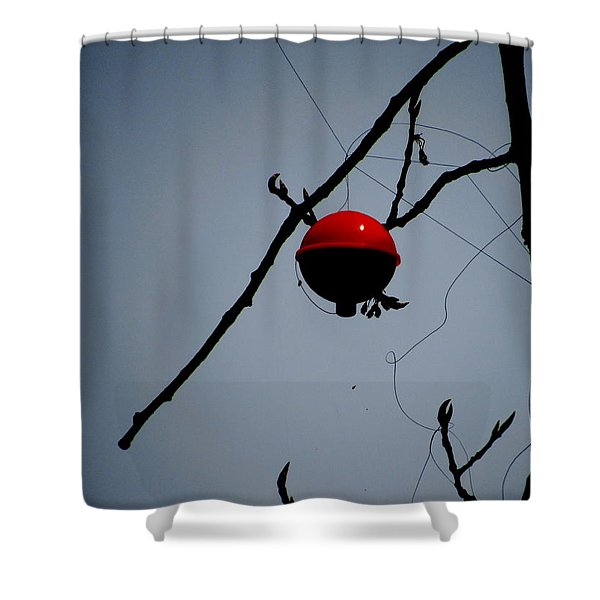 A Bad Day Fishing Shower Curtain