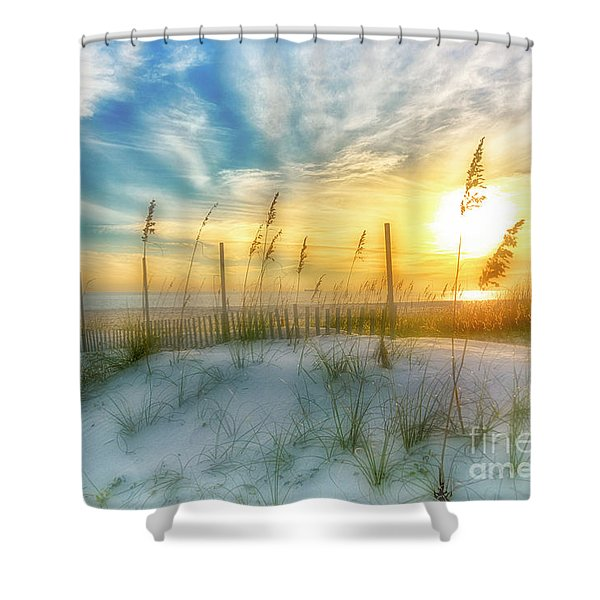 A Beach Dream Shower Curtain