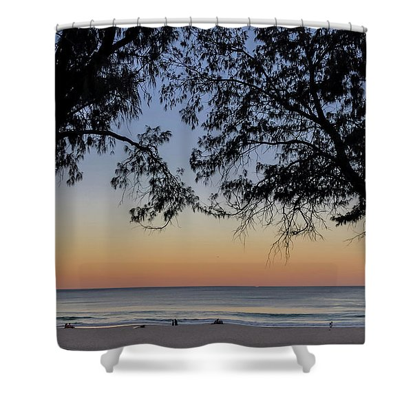 A Beautiful Place To Be Shower Curtain