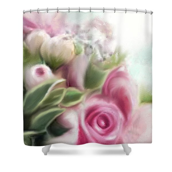 A Bouquet Of Thankfulness Shower Curtain