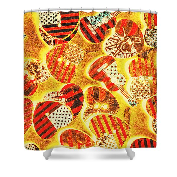 A Country Concerto Shower Curtain