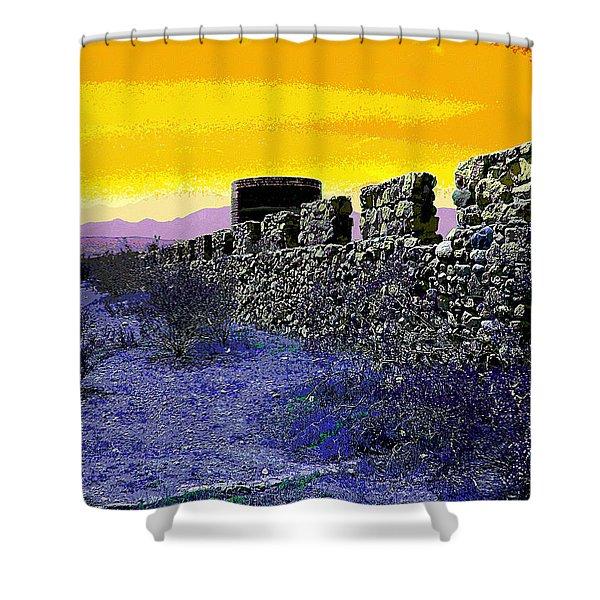 A Desert Host 2 Shower Curtain