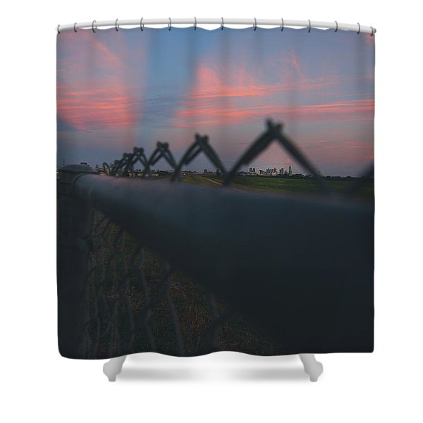 A Fence Shower Curtain