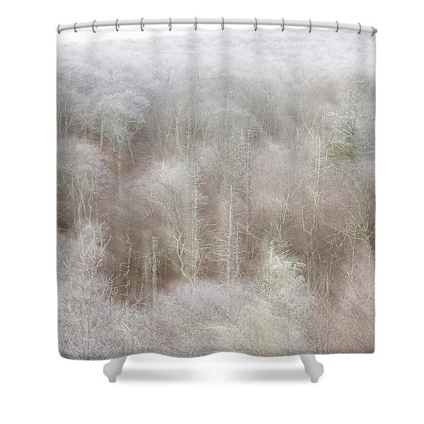 A Ghost Of Trees Shower Curtain