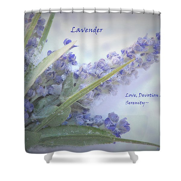 A Gift Of Lavender Shower Curtain