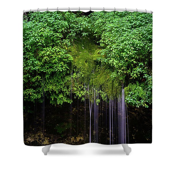 A Hidden Gem Shower Curtain