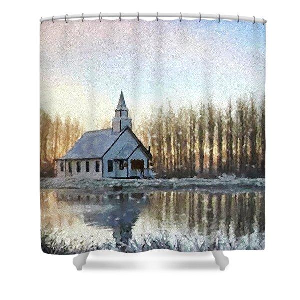 A Kind Heart - Hope Valley Art Shower Curtain