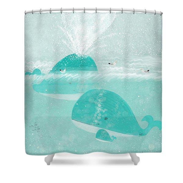 A Little Love Shower Curtain