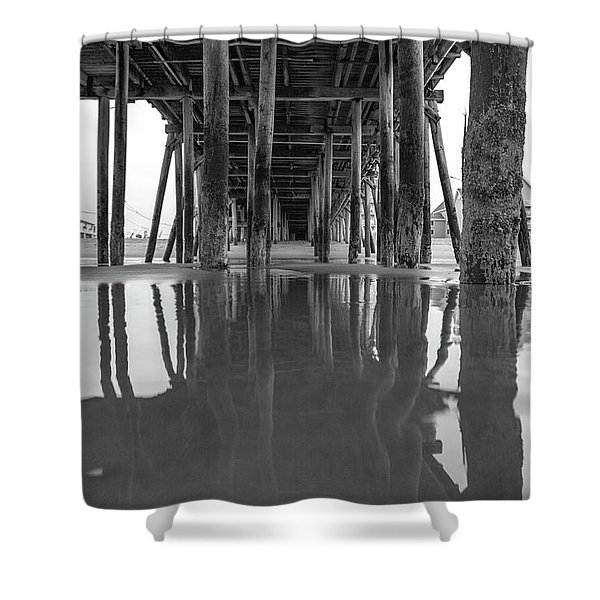 A Look Back In Maine Shower Curtain