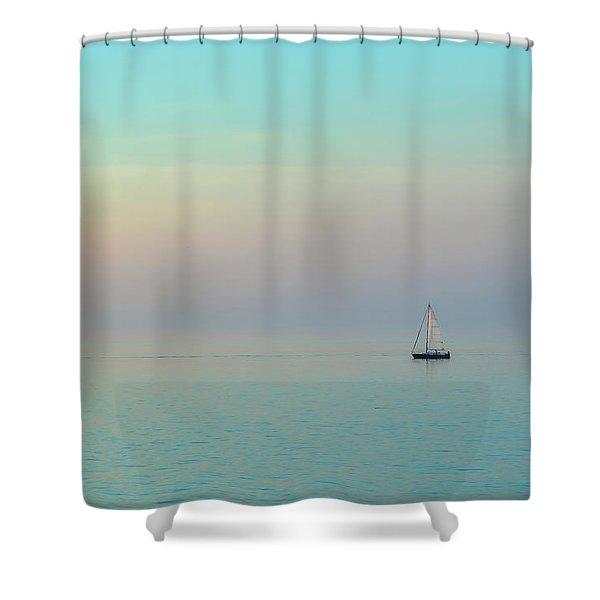 A Mid-summer Evening Shower Curtain