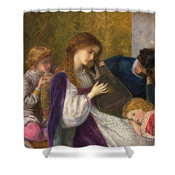 A Music Party, 1864 Shower Curtain