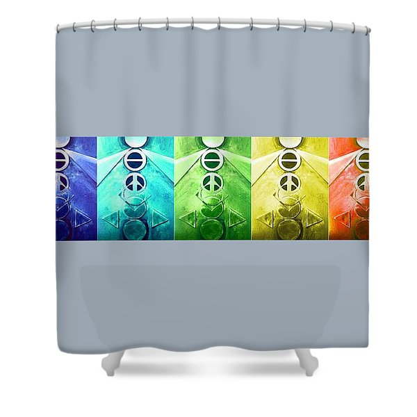 A New World, Order Shower Curtain