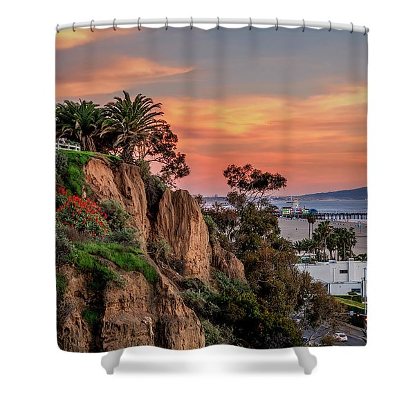 A Nice Evening In The Park Shower Curtain