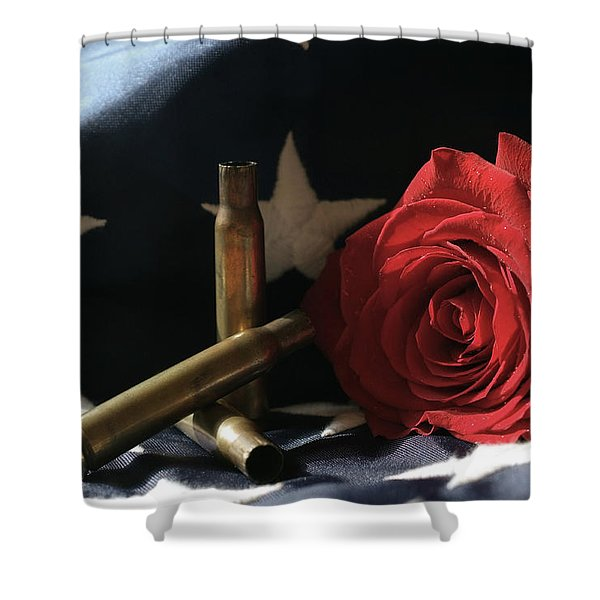 A Patriots Passing Shower Curtain