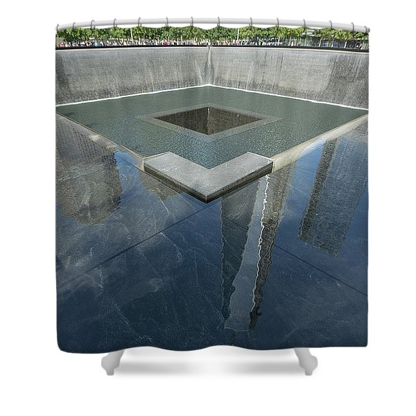 A Place For Reflection Shower Curtain