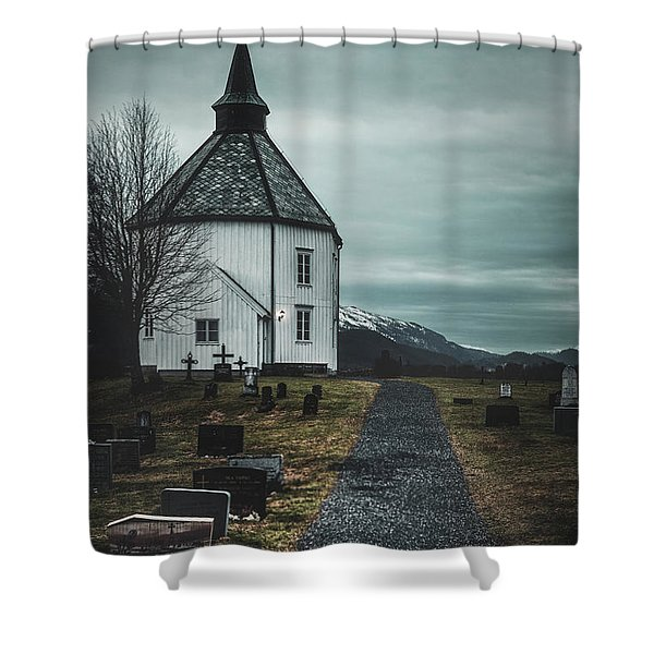 A Prayer For Time Shower Curtain