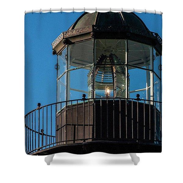A Sailor's Beacon Shower Curtain