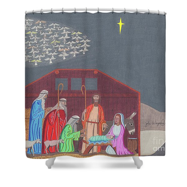 A Star Is Born Shower Curtain