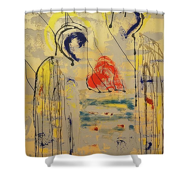 A Thousand Miles Of Sand And Sea Shower Curtain
