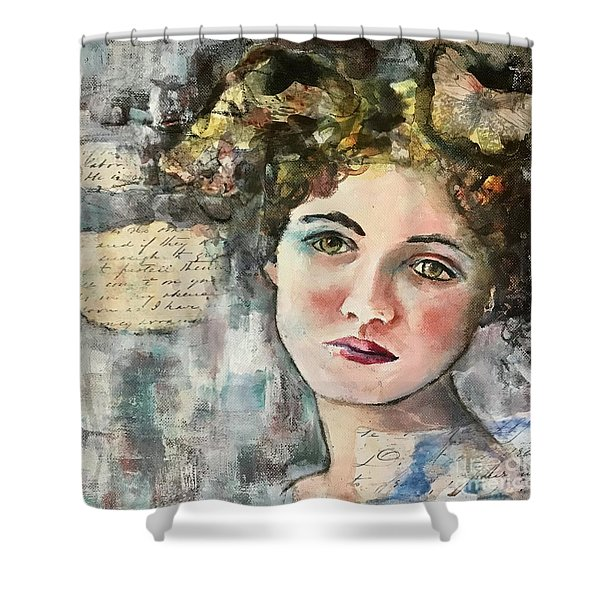 A Time Gone By Shower Curtain