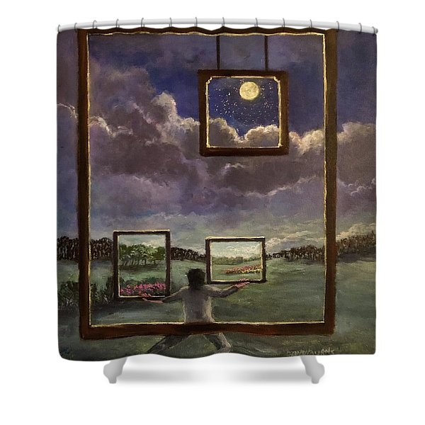A World Of Visions Shower Curtain