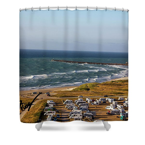 A4 Shower Curtain