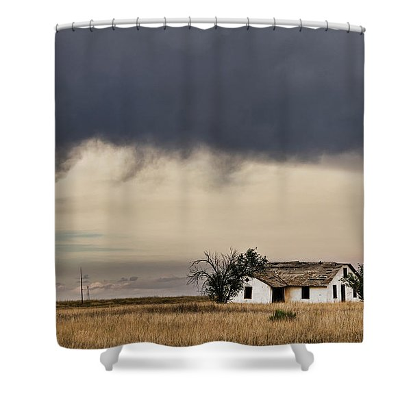 Abandoned New Mexico Shower Curtain