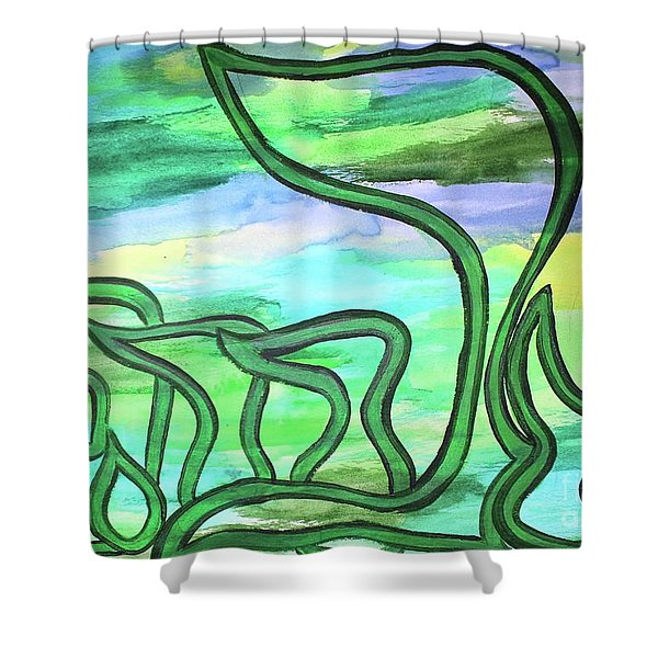 Abraham Nm2-4 Shower Curtain