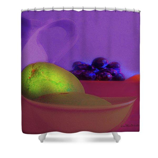 Abstract Fruit Art  109 Shower Curtain