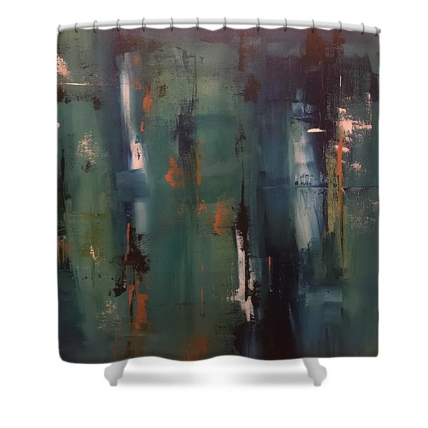 Abstract IIi Shower Curtain