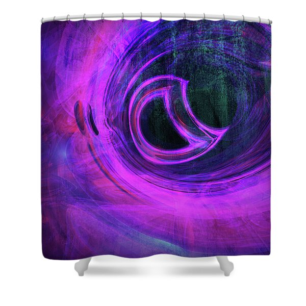 Abstract Rendered Artwork 4 Shower Curtain