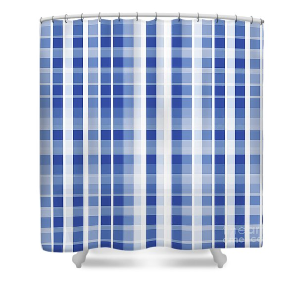Abstract Squares And Lines Background - Dde609 Shower Curtain