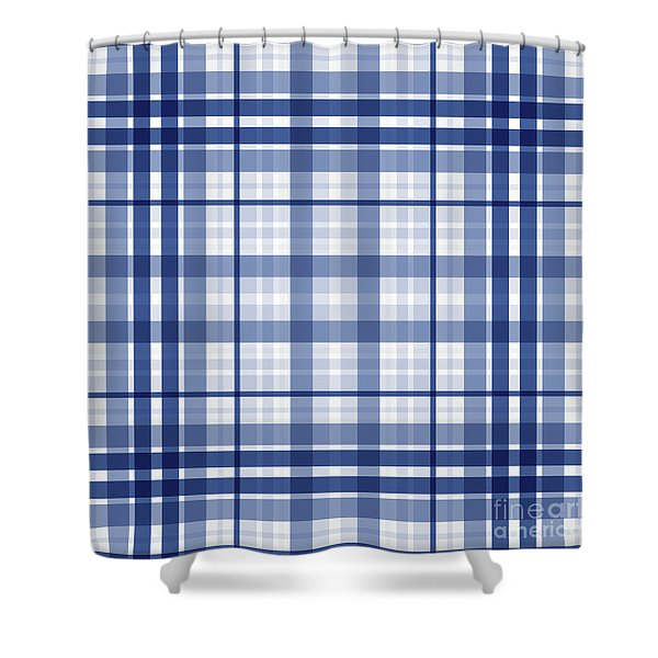 Abstract Squares And Lines Background - Dde611 Shower Curtain