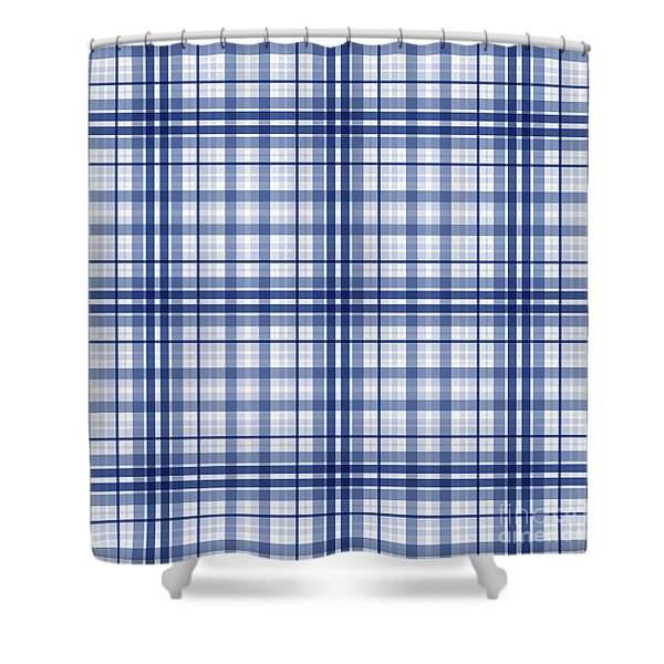 Abstract Squares And Lines Background - Dde613 Shower Curtain