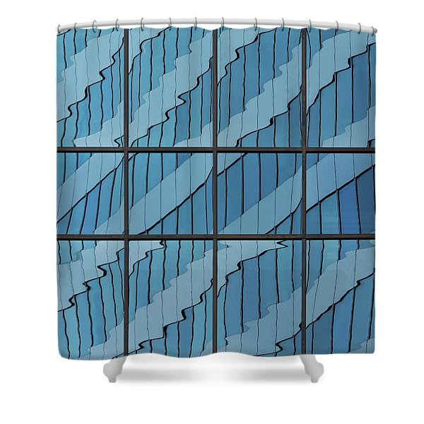 Abstritecture 39 Shower Curtain