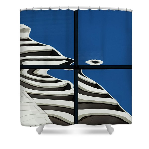 Abstritecture 41 Shower Curtain
