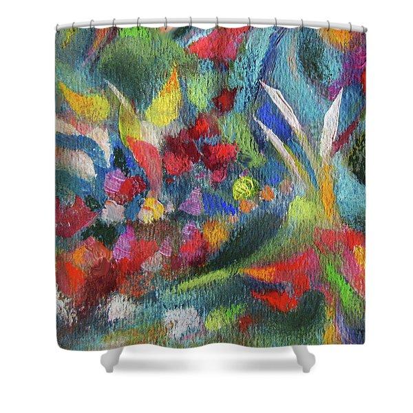 Abundance - Detail Shower Curtain