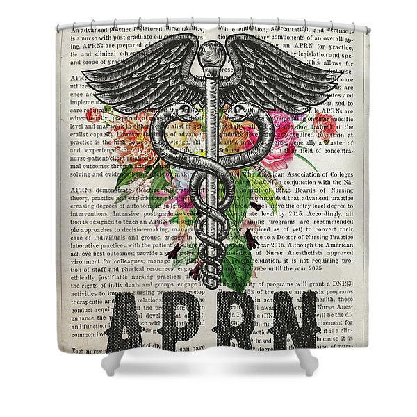Advanced Practice Registered Nurse Graduation Gift Shower Curtain