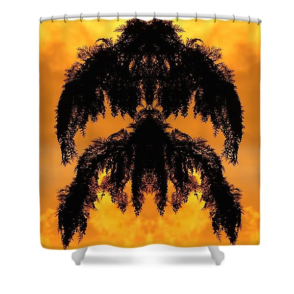Aerial Boughs 1 Shower Curtain