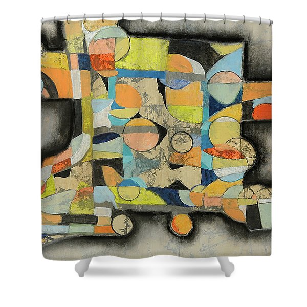 After The Beach Shower Curtain