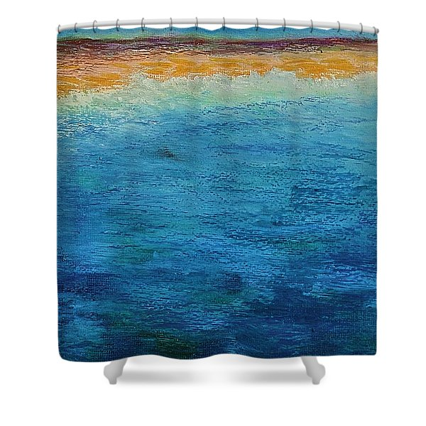 Aguamarina Shower Curtain