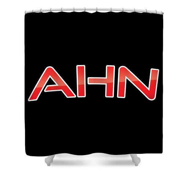 Ahn Shower Curtain