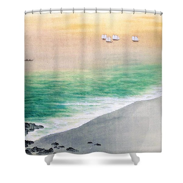 Akebonoiro - Top Quality Image Edition Shower Curtain