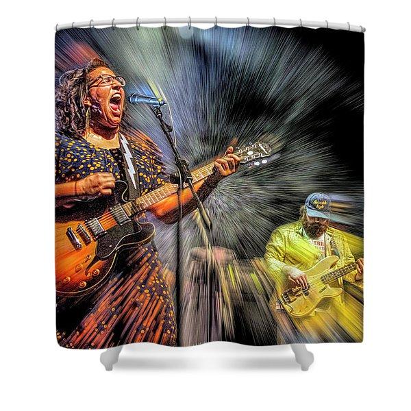 Alabama Shakes Shower Curtain