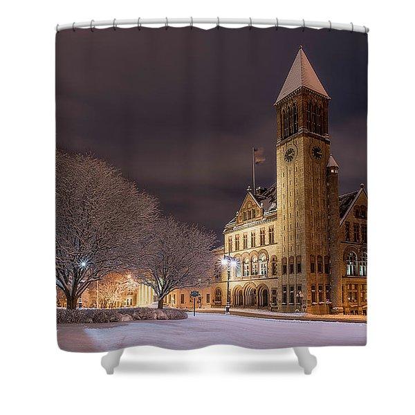 Albany City Hall Shower Curtain
