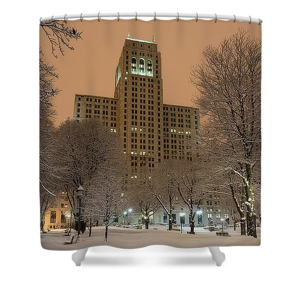Alfred E. Smith Building Shower Curtain
